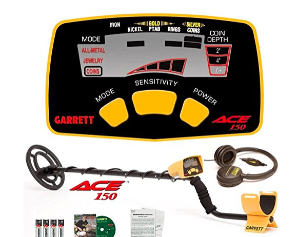 Garrett ACE 150 Features