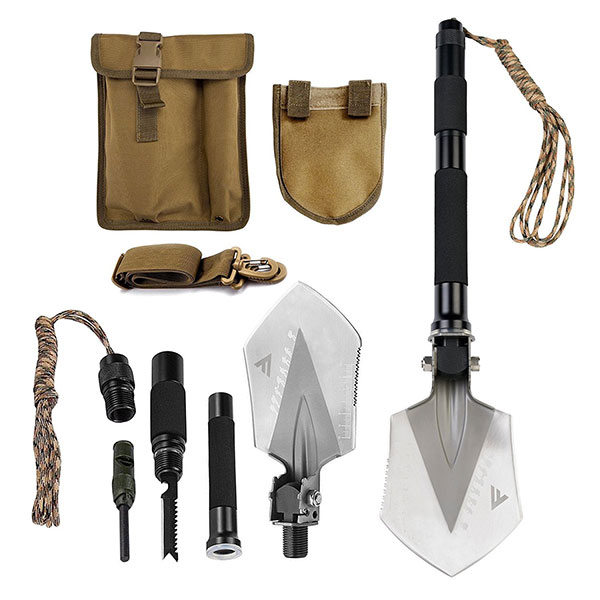 Military Folding Shovel Multitool